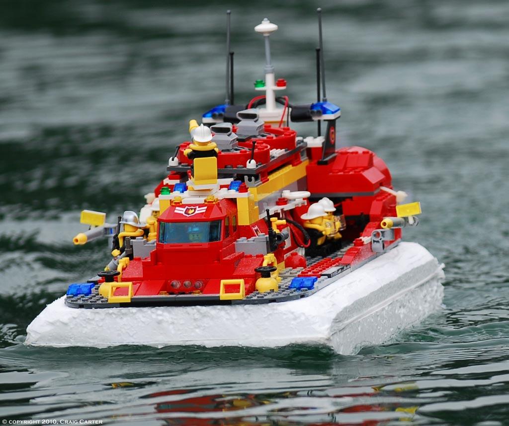 Lego cargo ship RC convertion? - RC Groups