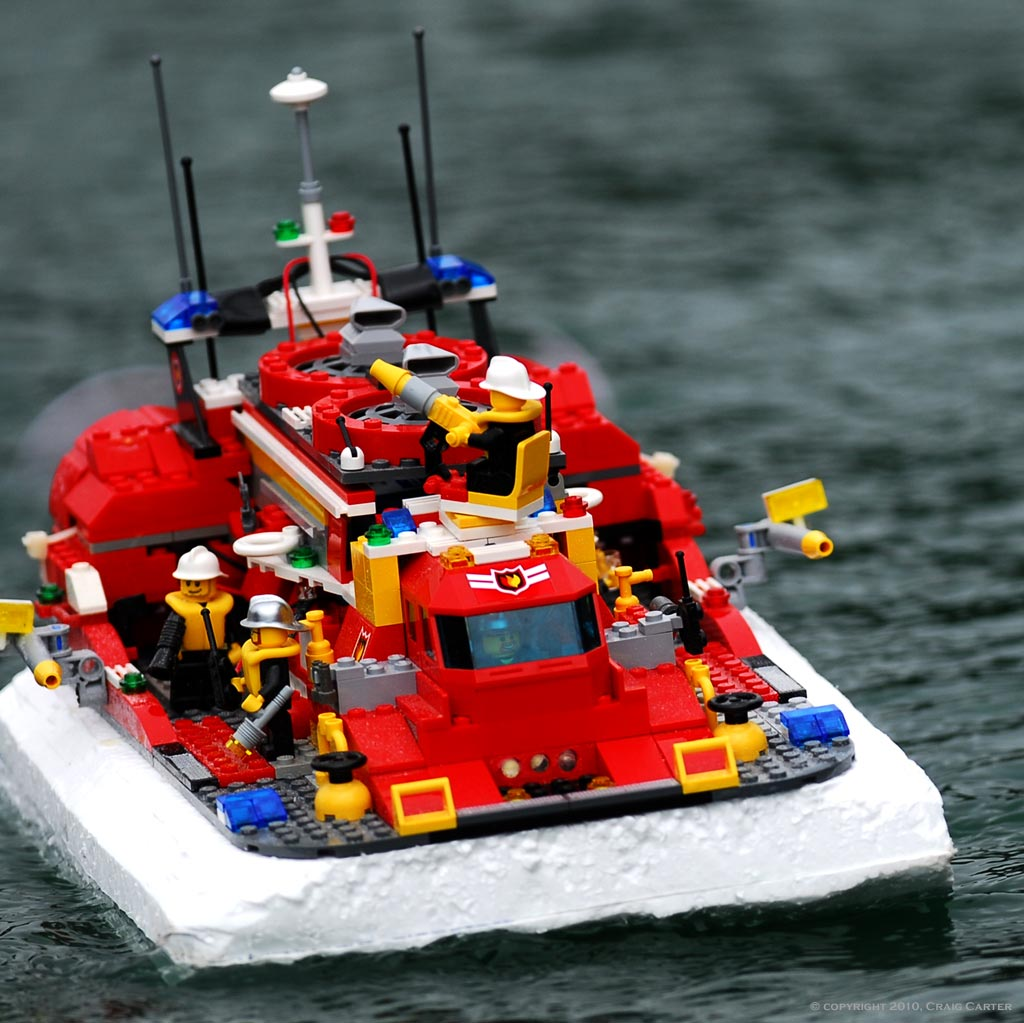 Lego cargo ship RC convertion? - RC Groups