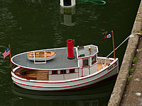 Name: 2012-08-05_005.jpg Views: 71 Size: 289.8 KB Description: Gerry's <Cpl.Fuzz> new ferry, the Talon, makes her debut as does...
