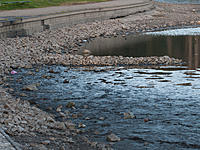 Name: 2013-06-22_0027.jpg Views: 851 Size: 300.0 KB Description: 22 June: North (sailing) shore drain  now completely exposed...