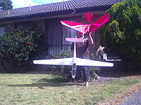 Name: PICT0185.jpg Views: 68 Size: 307.0 KB Description: The lazy  hawk  + 2.3 m   w/s glider father Xmas brought  ;-]