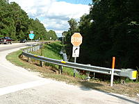 Name: DSCF0031.jpg Views: 34 Size: 207.1 KB Description: Country Road East Bound, Flood Waters Creeping up Enbankment...