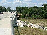 Name: DSCF0080.jpg Views: 49 Size: 229.0 KB Description: South End of Bridge Walkway, Creek Level is Near Normal...