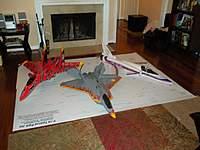 Name: Web_Plans2.jpg Views: 148 Size: 84.8 KB Description: Three of my surviving Jetset44 designed parkjets... 135% SU-37, 140% FA22, 128% X-29