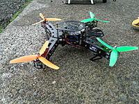 Name: 5 ready to fly 013.jpg Views: 41 Size: 318.6 KB Description: Dialfonzo 250mm Spyder quad!