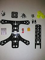 Name: IMG_20151207_192700.jpg Views: 49 Size: 375.0 KB Description: All parts that came all sealed and packaged nicely.  Stand offs are 4.5 mm thick. Taking a 1.5 mm button head Allen head.
