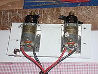 Name: 004.jpg Views: 71 Size: 241.1 KB Description: Motor platform. 2 M.A.C.K. 1885 geared motors set up for 2.5:1. Data plate states 6 to 12 volts, 0.8 Amps.