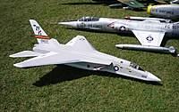 Name: bats2d.jpg Views: 230 Size: 133.6 KB Description: Scratchbuilt twin 56mm EDF RA-5C Vigilante by Mike Dudley