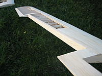 Name: IMG_4264.jpg Views: 191 Size: 156.5 KB Description: Aileron cut out and sub trailing edge installed an sanded to shape
