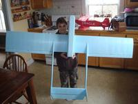 Name: Boy and UAV.jpg Views: 1840 Size: 64.4 KB Description: Here it is with The Boy, age 8, for some size perspective.
