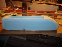 Name: Center pod 2.jpg Views: 1073 Size: 54.1 KB Description: The finished fuse pod after some sanding.