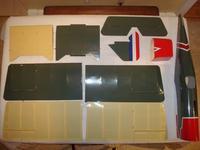 Name: Major Pieces.jpg Views: 600 Size: 49.7 KB Description: The major assemblies laid out for inspection.