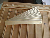Name: DSCF8079.jpg Views: 101 Size: 860.4 KB Description: 18 blanks cut and sanded to size, then the offset spacing G_T gave marked.