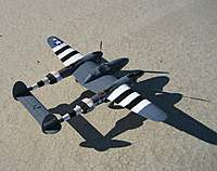 Name: My P-38_3.jpg Views: 122 Size: 100.9 KB Description: E-Flite P-38 on the ready line. Best flying P-38 I have ever seen bar none!!