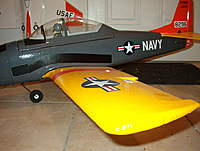 Name: IM002790.jpg Views: 323 Size: 67.4 KB Description: Scalebrad's T-28 covered in sign vinyl.