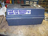 Name: 10 07 013.jpg Views: 67 Size: 292.2 KB Description: Chuck Steffen had his nephew run up these bumper stickers for our club.