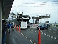 Name: 100_5128.jpg Views: 22 Size: 782.8 KB Description: Offloading. Crew members bring the vehicles off and passengers get in and go.