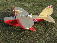 Name: 8BBBABDE-3679-43DF-A4F0-FE65BC40C29D.jpeg Views: 12 Size: 1.21 MB Description: Jupiter Shrimp with KF wing that can support ailerons and flaps.