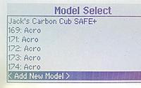 1.  Add a new model