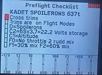 Name: 6D1446AF-F1BF-4BF5-A227-5F99FA9CD32D.jpeg Views: 19 Size: 1.01 MB Description: I have made a pre flight note to remind me next week what I have added to test out.