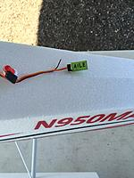 Name: image-20ad4b4e.jpg Views: 239 Size: 313.4 KB Description: Stock aileron Y cable hat is too short and requires too much force to connect and disconnect.  Wires can be pulled out of the housing when disconnecting.  Replace with longer cable that is easier to insert and remove.