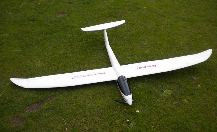 Name: Graupnerelecktrojuniord.jpg Views: 578 Size: 52.0 KB Description: Graupner Elektro Junior S before maiden flight