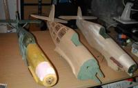 Name: hurris109e.jpg Views: 318 Size: 18.7 KB Description: Cambrian Bf109E, Pilot Mk 1 Hurricane and Bowman Models Mk 1 Hurricane fuselages