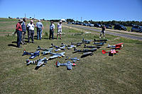Name: Warbirds Over LOS-1.jpg Views: 26 Size: 891.1 KB Description: ADS Warbirds event - great turn-out from the club, lots of warbirds of various shapes and sizes. Eight Spitfires, two FW-190s, a Hawker Typhoon, DH Mosquito, Grumman Bearcat, Messerschmitt Bf109, and Bf110, Fokker DVII and a Das Little Stik