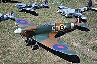 Name: Warbirds Over LOS-6.jpg Views: 25 Size: 926.1 KB Description: Graham Donaldson's Retlas Spitfire, painted to represent his uncle's aeroplane.