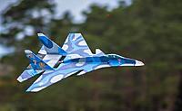 Name: su37superflanker3.jpg Views: 43 Size: 70.4 KB Description: Sukhoi Su-37 Super Flanker maiden flight. Picture credit Derek Robertson.