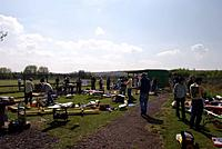 Name: fundaypits.jpg Views: 156 Size: 46.1 KB Description: Busy pits at WMC on te morning of the Spring Fun Day