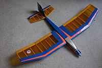 Name: searching400mk2.jpg Views: 14 Size: 82.4 KB Description: MAF Searching 400 electric soarer - Peter Kent built and ready for a brushless transplant.