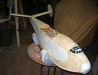 Name: 3-17-12 RuddersSheeting (3).jpg Views: 142 Size: 53.8 KB Description: Test fitting the tail feathers.