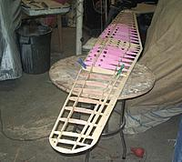 Name: 3-27-12 Wing Outers (1).jpg Views: 124 Size: 53.5 KB Description: Ailerons have to be cut free yet.