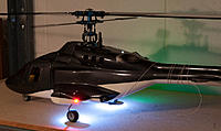 Name: AHS_3408.jpg Views: 181 Size: 126.7 KB Description: T-Rex 450 w/Dimension Engineering DELights + LG down... strobe lights off, landing lights on