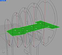 Name: 36-Battery_Tray_Updates.jpg Views: 403 Size: 87.6 KB Description: Design for repositioned battery tray did not make it to my laser cutting file. Would make access much easier, as well as more room for nose weight in front of and on top of tray.
