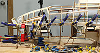 Name: 51-First plank clamped in position.jpg