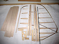 Name: 159-fin & rudder parts.jpg Views: 197 Size: 100.5 KB Description: Fin and rudder parts from the Aussie build. Skins not included in the kit. I am not sure if the tubing and wire for the take-apart hinges are included. I will be using Robart hinges, not the ply hinges included. See the Aussie build log for those.