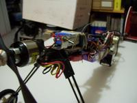 Name: 100_1032.jpg Views: 624 Size: 48.2 KB Description: The switch and batt on top, behind the motor, are for the vid system. Batt is a 800 3s E-Flite
