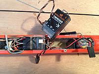 Name: precision radio 2.jpg Views: 148 Size: 237.1 KB Description: Close up view.  Once the module is in, the altitude sensor just sits on top of the model with some tape to secure it.  Easy to remove too for a contest where it would be outlawed....Its like cheatin'