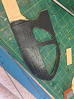 Name: IMG_9686.jpg Views: 69 Size: 1.39 MB Description: Black acrylic paint on inside of fuse. Paint still wet.  It dried to a nice flat finish.