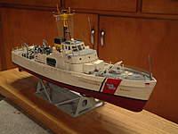 "Name: Dscf0043.jpg Views: 101 Size: 67.5 KB Description: My 13"" Lindy Coast Guard patrol boat (95' Cape Class)"