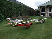 Name: DSCF2378.jpg Views: 273 Size: 116.4 KB Description: The red super cub is the one I just finished All hand built as per the full size. The tomahawk is 5 years old and the white scratch built Super Cub is 20.