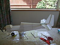 Name: DSCF3226.jpg Views: 332 Size: 209.2 KB Description: elevator and fin attached along with motor and mount