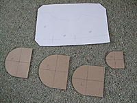 Name: DSCF3355.jpg Views: 158 Size: 301.4 KB Description: the center pod drawn on paper and the half templates cut