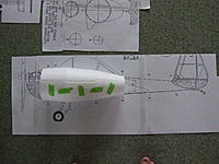 Name: DSCF3365.jpg Views: 221 Size: 245.6 KB Description: all temperary taped together and sitting on the pod section of the plane.