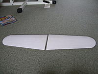 Name: DSCF3395.jpg Views: 165 Size: 291.9 KB Description: all spackelled and light sand then paper covered.