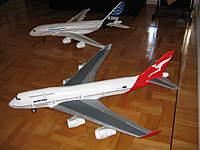 Name: A380 015.jpg Views: 227 Size: 58.9 KB Description: 747 Scratch built from Depron A380 an ARF