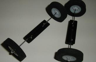 The main gear assembled.