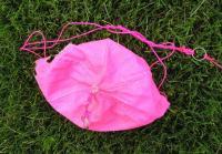 Name: Home made parachute - top red.jpg Views: 268 Size: 62.9 KB Description: